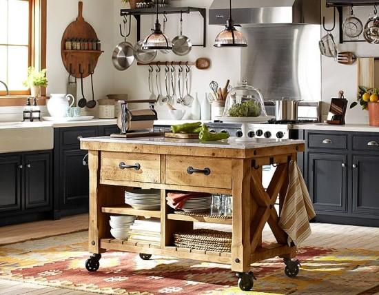 kilim in the kitchen