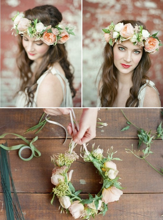flower_crown_diy_green_wedding_shoes