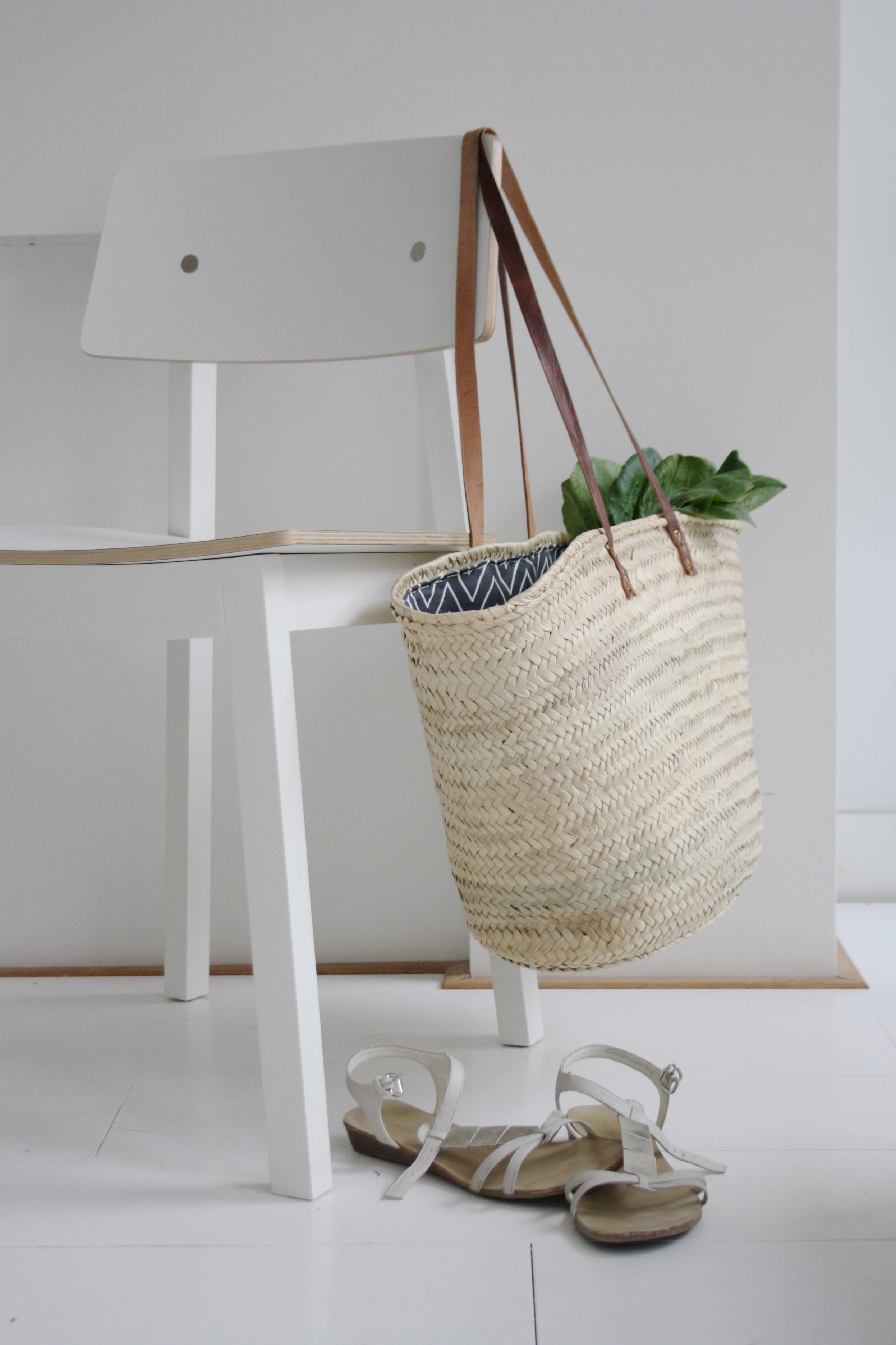 Easy Diy Lined Wicker Tote Avenue Lifestyle Avenue Lifestyle