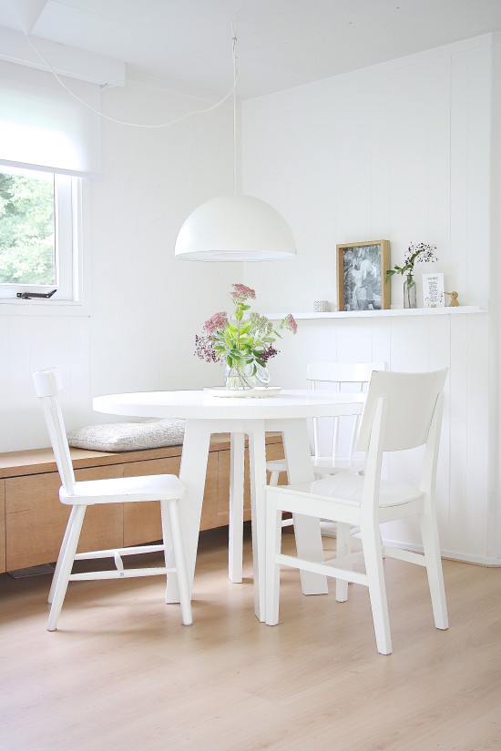 Inside scoop a scandinavian style retreat avenue - Buffet salle a manger ikea ...