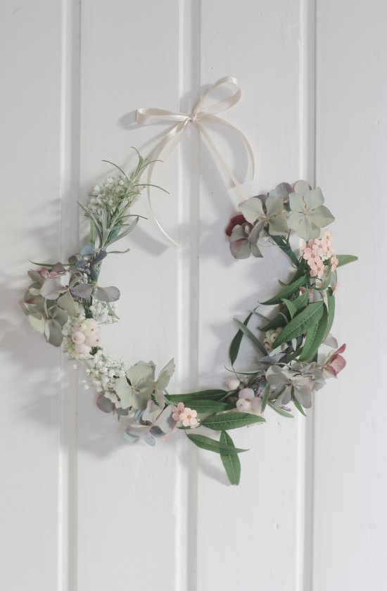 Floral Wreath by Holly Marder/Avenue Lifestyle