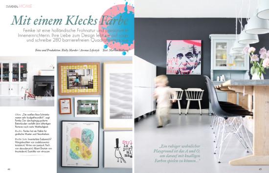 Sweet Living Magazin: The home of Femke Dekker by Holly Marder / Avenue Lifestyle