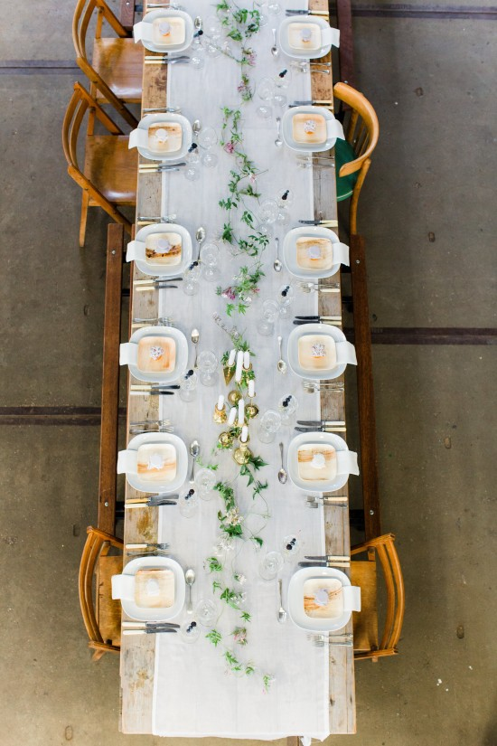 Wedding Files: Part II / Photography by Anouschka Rokebrand / Styling by Avenue Lifestyle / Assistant styling by Style Serendipity / Plates by VerTerra / Brass candlesticks & cutlery by Helene Millot Furnishings / Venue: Lijm en Cultuur Delft, The Netherlands