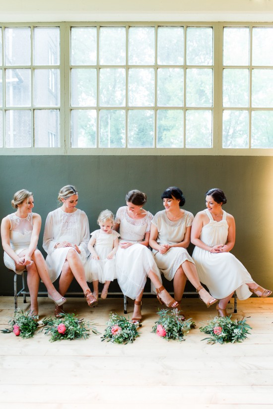 Wedding Files: Part II – Bridesmaids / Photography by Anouschka Rokebrand / Styling by Avenue Lifestyle / Venue: Lijm en Cultuur, Delft, The Netherlands
