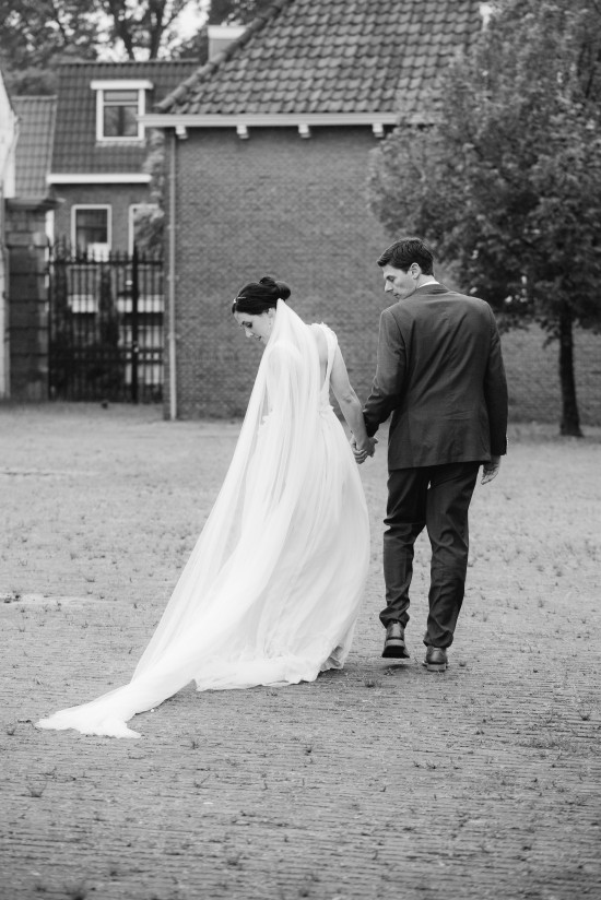 Photography by Anouschka Rokebrand / Wedding Gown by Armeni Rotterdam / Veil by SIBO Designs