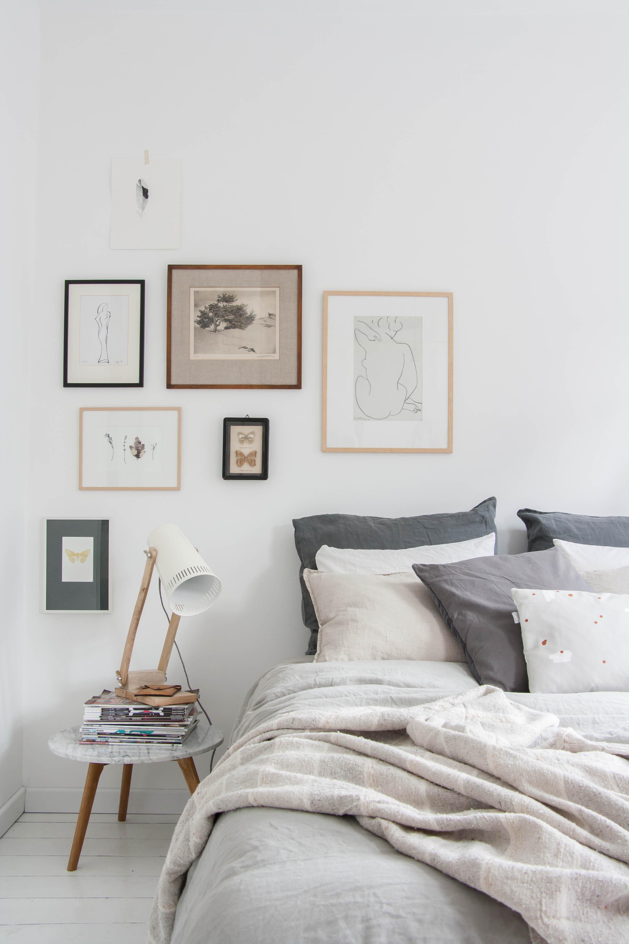 Gramona interiors5 estilos para decorar tu cabecero de - Cuadros cabecera cama ...