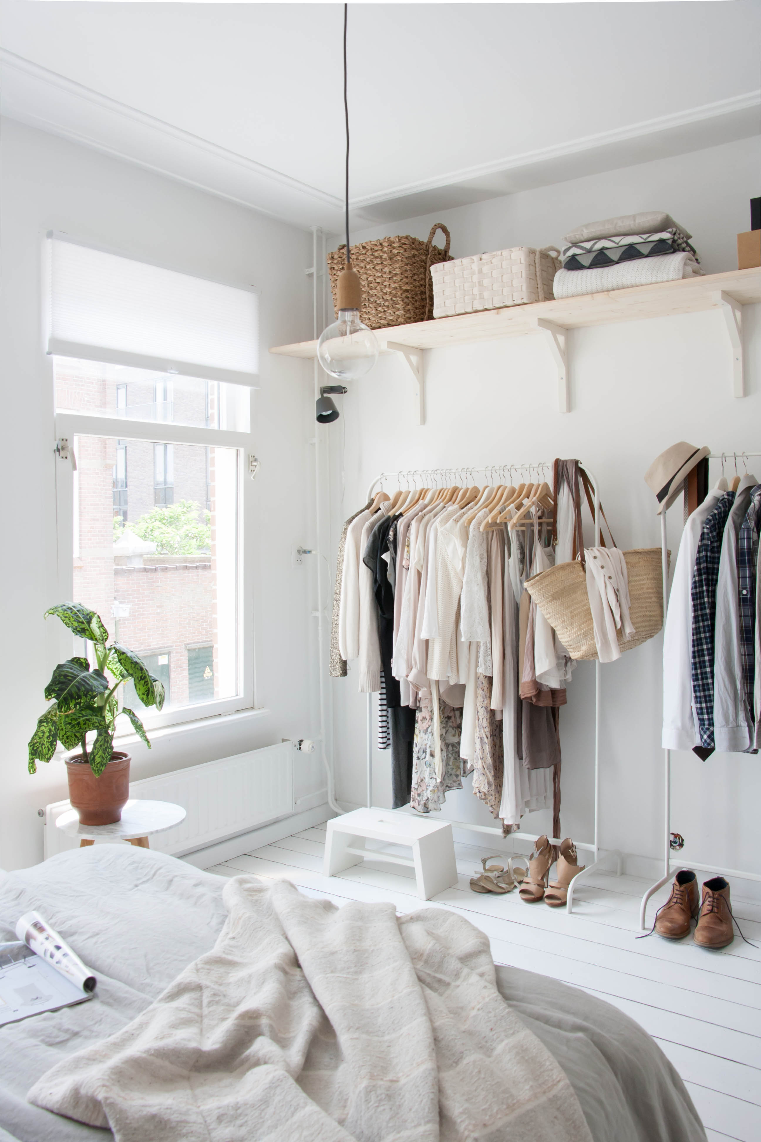Home Hacks: 12 Clever Closet Makeover Ideas - thegoodstuff