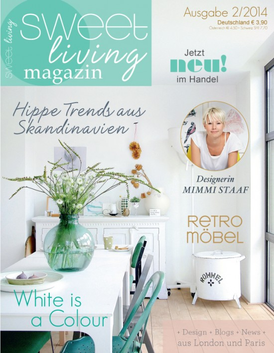 Sweet Living Magazin issue two - Avenue Lifestyle