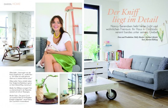 Sweet Living Magazin Issue 2 - The Home of Nancy Berendsen