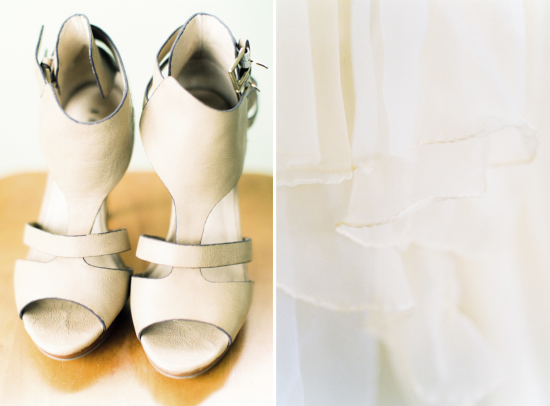 Wedding Files: Part V - Our Wedding Captured on Film / Photography by Anouschka Rokebrand / Shoes by Invito