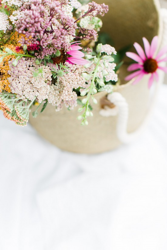 Wildflower Inspiration for Style Me Pretty Living // Styling & Concept: Holly Marder / Avenue Lifestyle // Photography: Anouschka Rokebrand