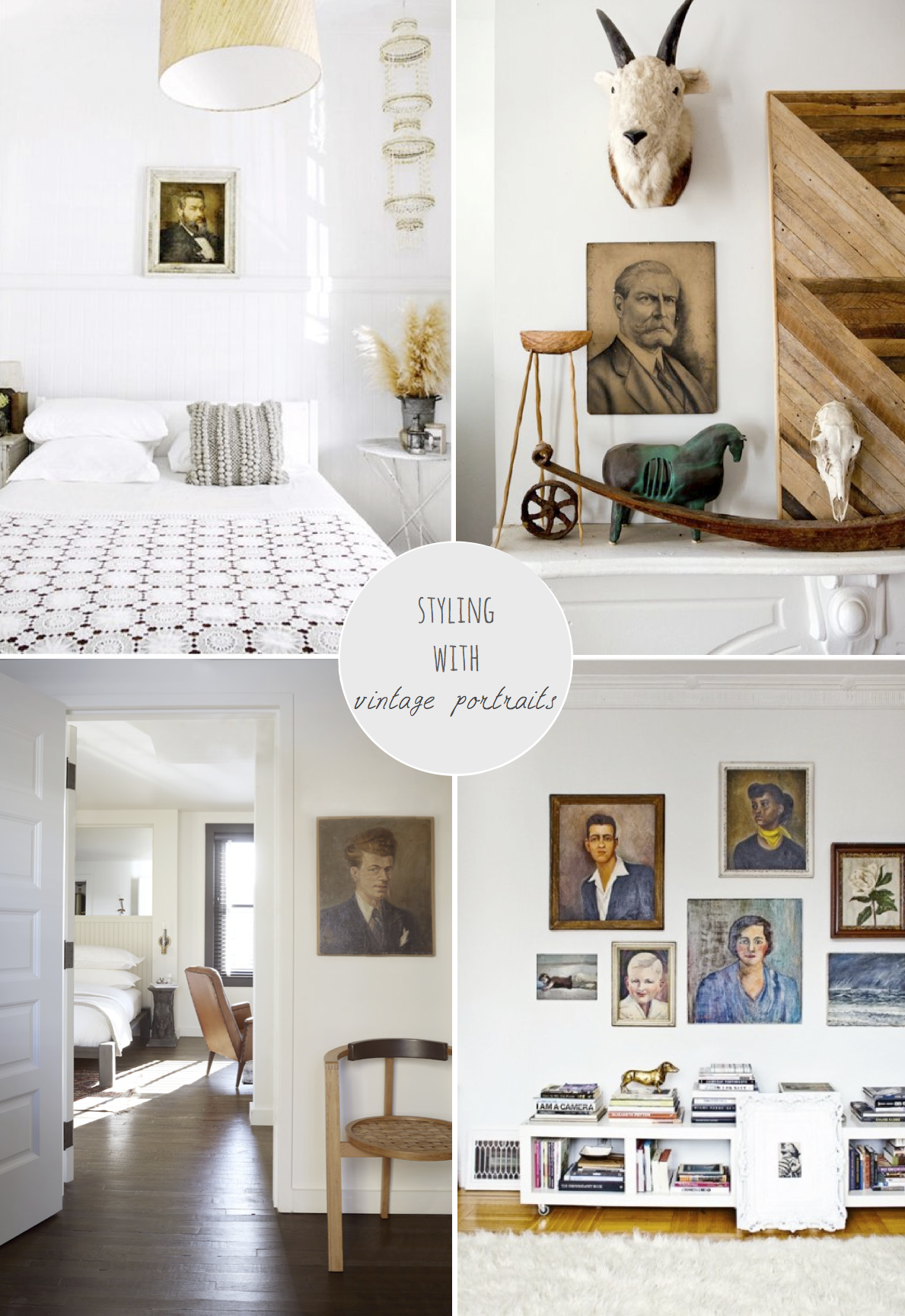 Styling With Vintage Portraits - Avenue Lifestyle Avenue Lifestyle