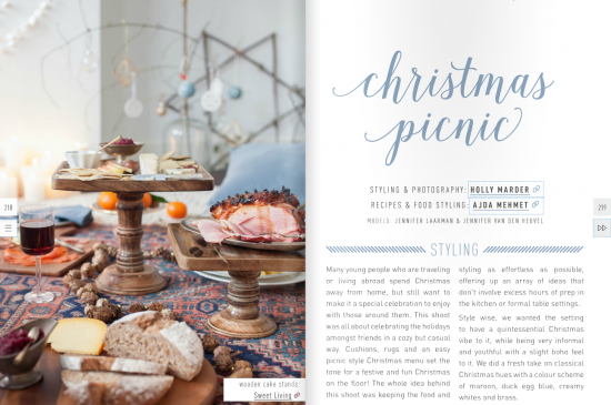 Christmas Picnic // Styling & Photography: Holly Marder {Avenue Lifestyle} / Recipes & Food styling: Ajda Mehmet