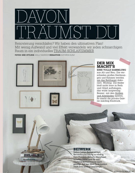 Bedroom project in couch magazine avenue lifestyle avenue lifestyle bed 2 sisterspd