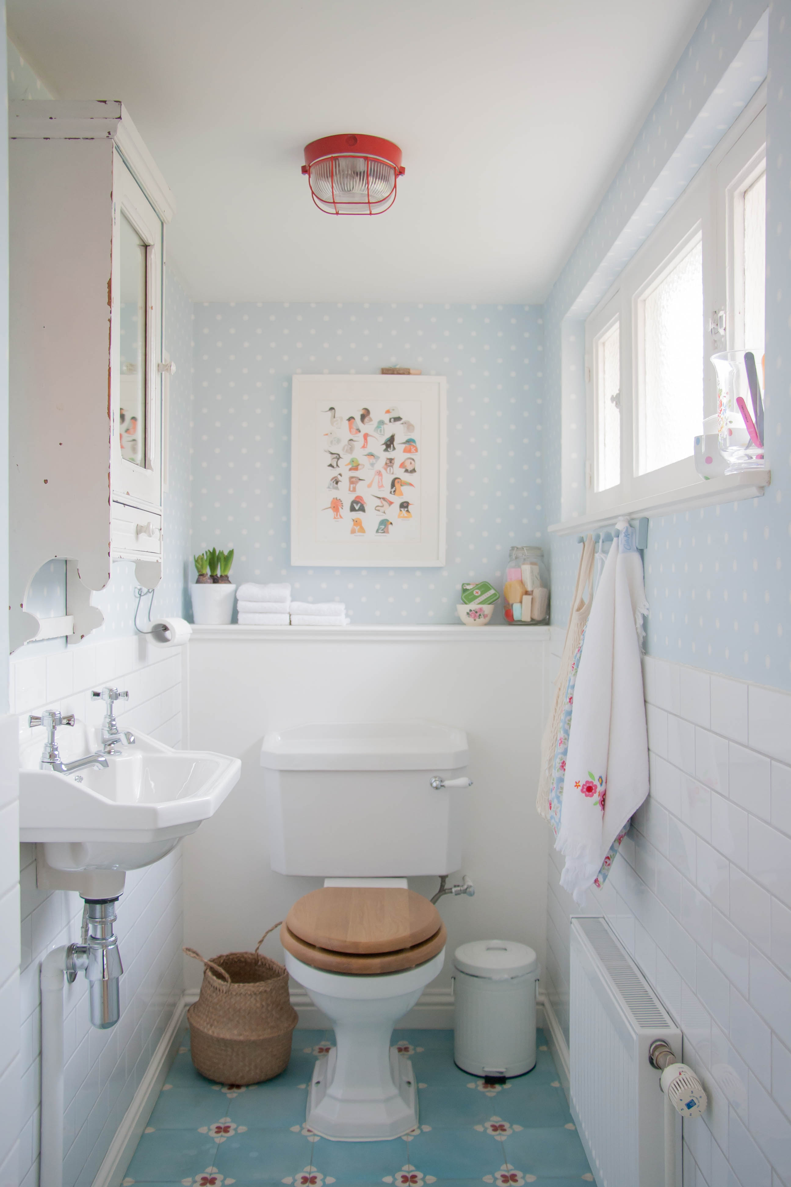 Pale blue bathroom - Inside Scoop Sweet Pastel Style In Belgium Photography Holly Marder Avenue