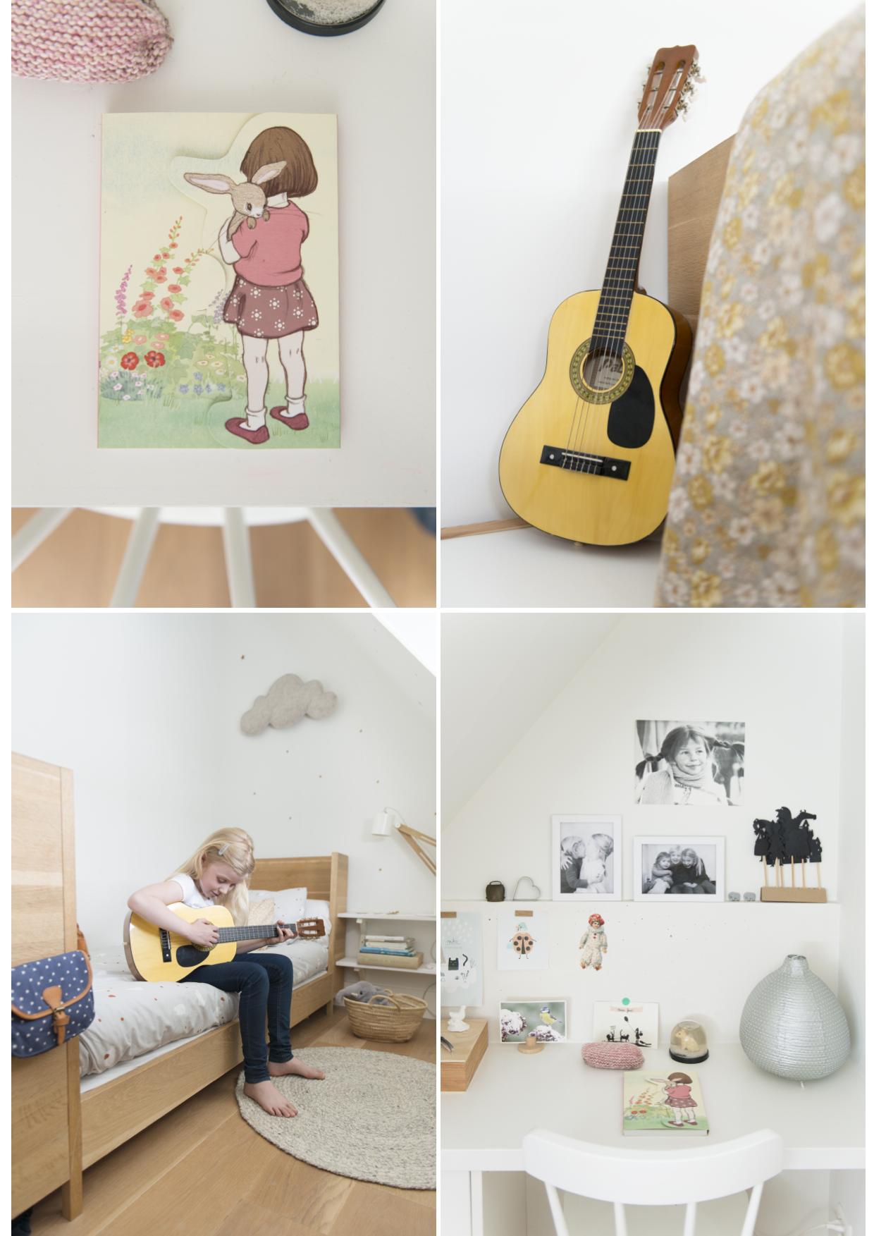 Una habitaci n infantil en tonos c lidos con una delicada - Decoracion infantil habitacion ...