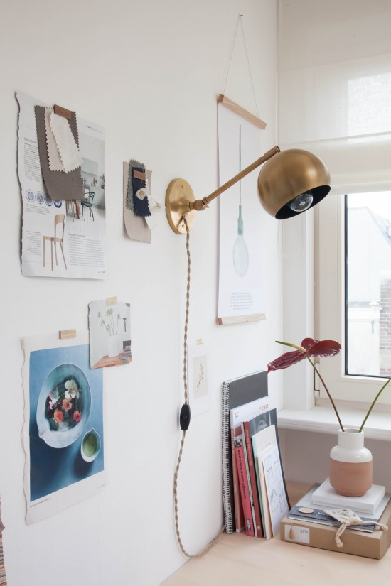 Avenue Lifestyle Studio // Photography: Holly Marder / Lamp: Schoolhouse Electric