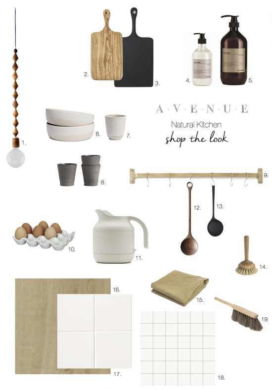 Shop the look_natural kitchen_avenue copy