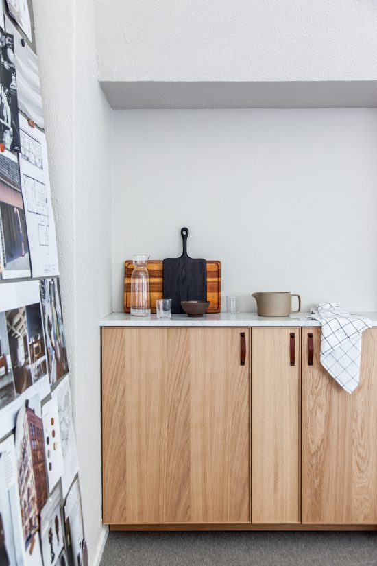 Amazing we used a tiny little niche to create a - Kitchenette pour studio ikea ...