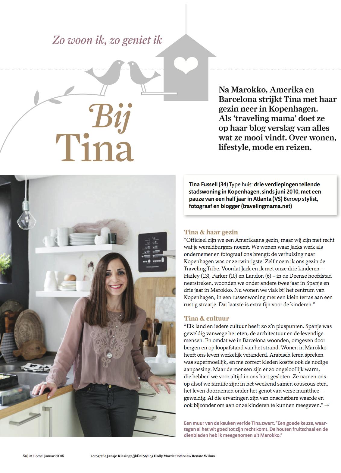 Fonkelnieuw Inside Scoop: Tina Fussell's Copenhagen Home Avenue Lifestyle XS-07